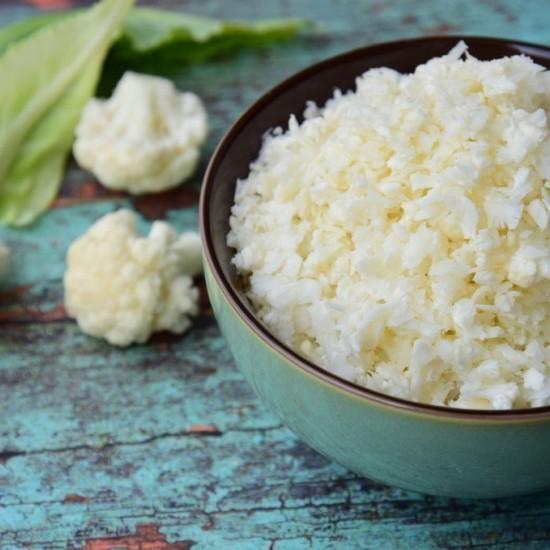 أرز القرنبيط بالفرن لمرضى السكري