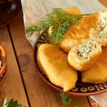 فطائر الجبنة البيضاء