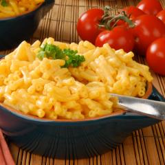 مكرونة بالجبن بسعرات حرارية أقل