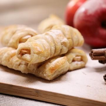 حلى البف باستري بالتفاح والقرفة بالفيديو