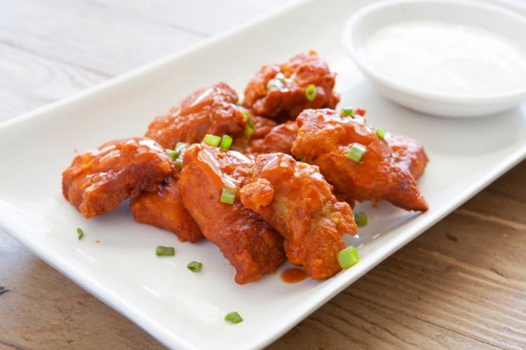 دجاج بافالو مثل المطاعم
