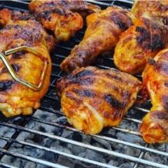 تتبيلة دجاج مشوي على الفحم