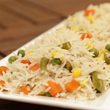 الأرز بالخضار بالفيديو