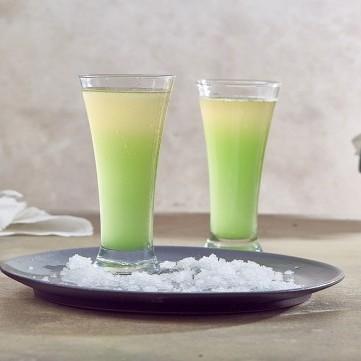 عصير الأناناس والنعناع
