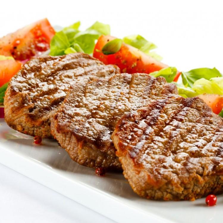 لحم بتلو مشوي للرجيم
