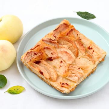 حلى التفاح بالفرن