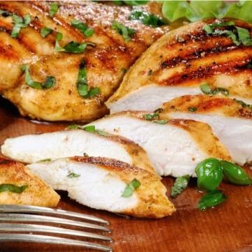 دجاج مشوي بالريحان للرجيم