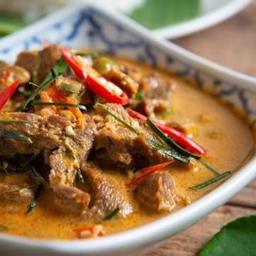 لحم فيليه بالكاري من المطبخ الهندي