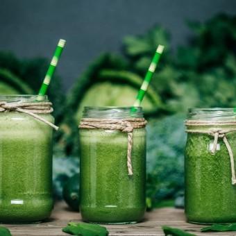 عصير أخضر مضاد للأكسدة لمرضى سرطان الثدي