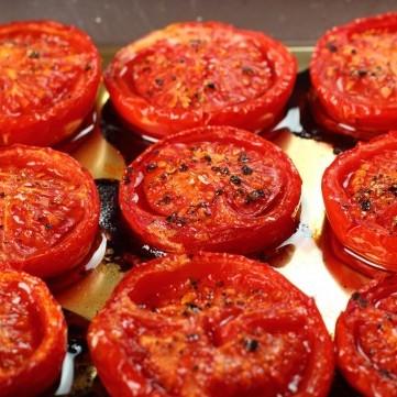 طماطم مشوية بخل البلسمي