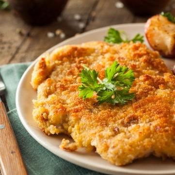 طريقة عمل اسكالوب الدجاج مثل المطاعم