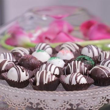 كرات الكيك بالشوكولاتة لضيافة العيد بالفيديو