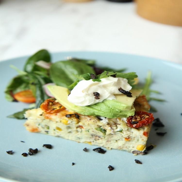 فطيرة البيض المكسيكية للفطور
