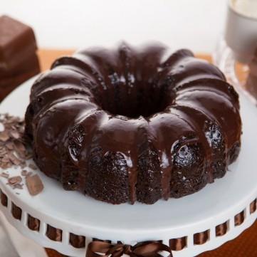كيكة الشوكولاتة البسيطة