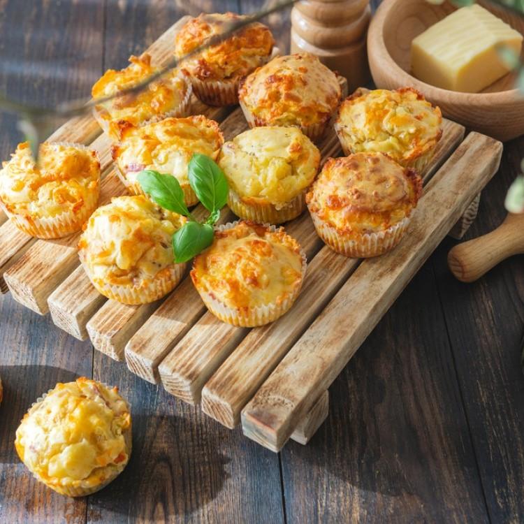 مافن البطاطس بالجبن