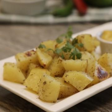 بطاطس محمرة بالزبدة بالفيديو