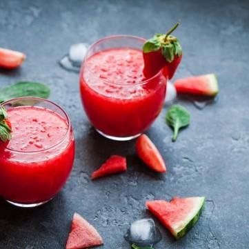 عصير البطيخ المثلج