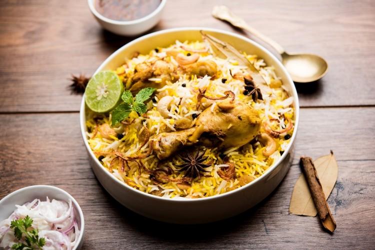 أرز برياني صحي