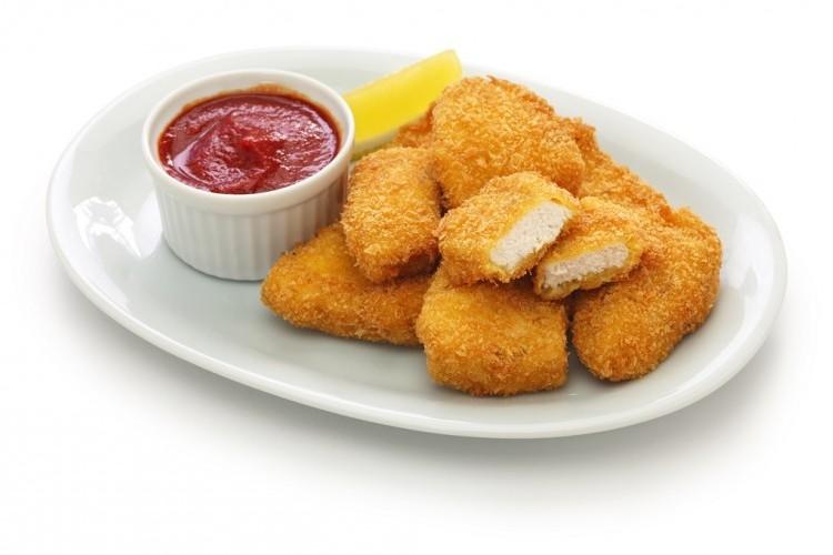 ناجتس الدجاج بالفرن بسعرات حرارية أقل للرجيم