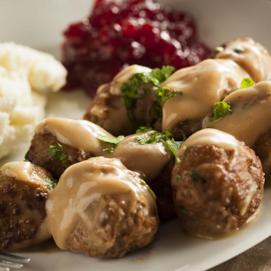 كرات اللحم السويدية