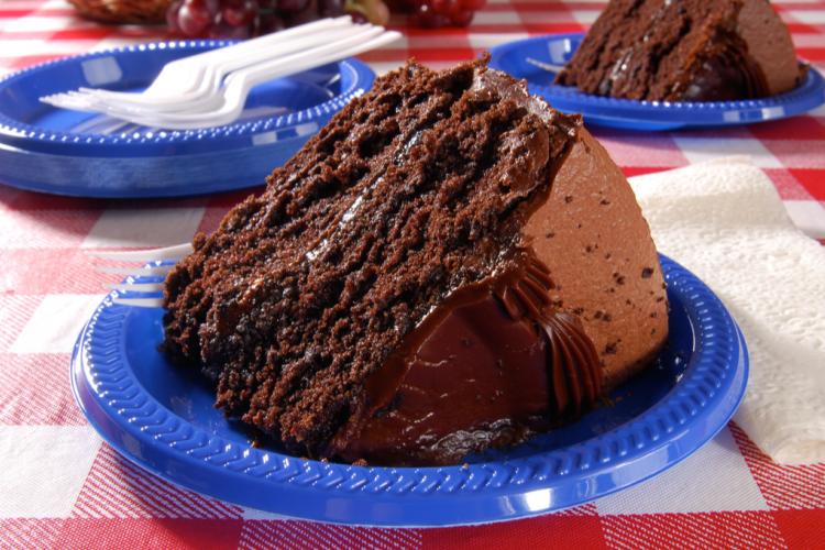 كيكة الشوكولاتة بالمايونيز بدون بيض