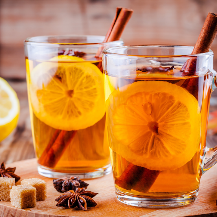 شاي ايرل جراي بالبرتقال والقرفة