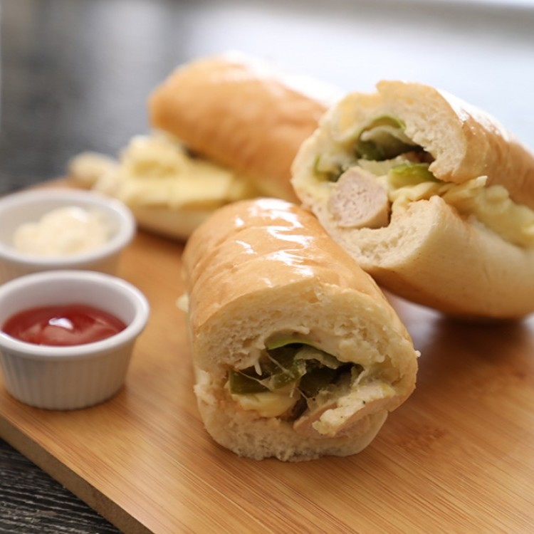ساندويش دجاج كودو بالفيديو