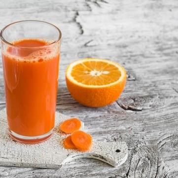 عصير الجزر والبرتقال للتخسيس