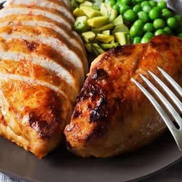 دجاج حار مشوي للرجيم