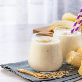 سموذي الموز بالشوفان