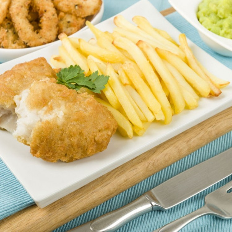 سمك فيليه مشوي مع البطاطس للرجيم
