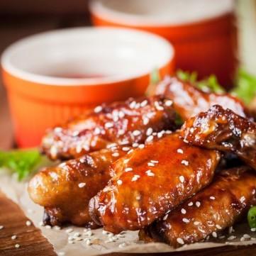 دجاج بالعسل من المطبخ الآسيوي