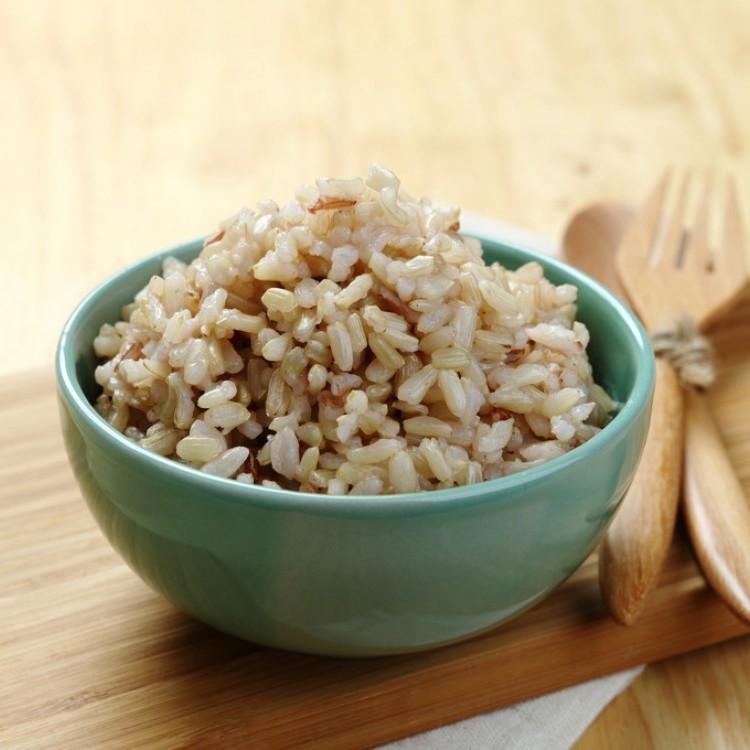 الأرز البني المفلفل لرجيم مثالي
