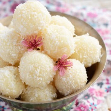 حلويات بجوز الهند