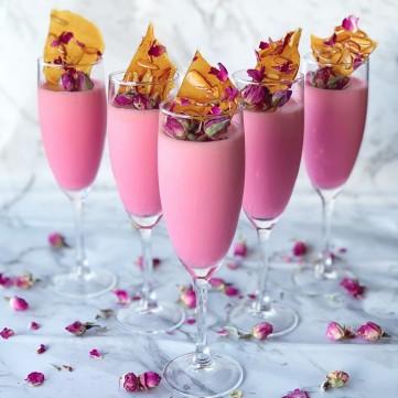 مهلبية الورد بالكروكان لضيافة عيد فاخرة