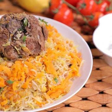 الأرز البخاري على الطريقة الأصلية بالفيديو