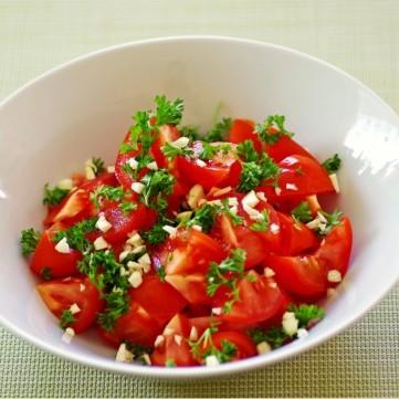 سلطة الطماطم الحارة