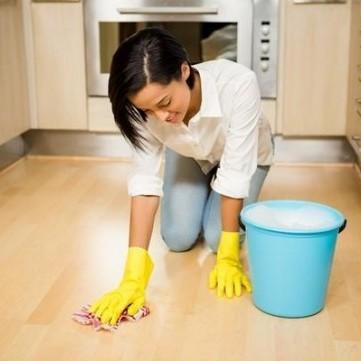 طريقة عمل منظف أرض المطبخ المنزلية