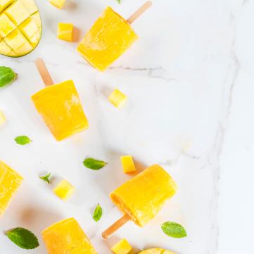 مثلجات المانجا