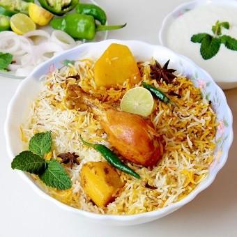 أرز البرياني مثل المطاعم