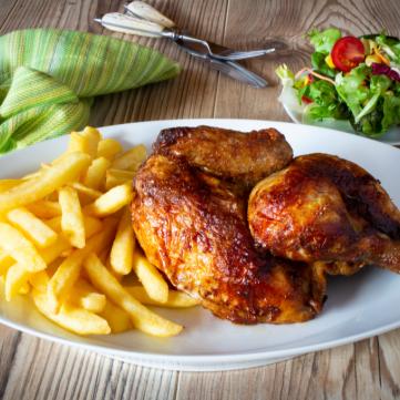 دجاج مشوي بتتبيلة الزبادي
