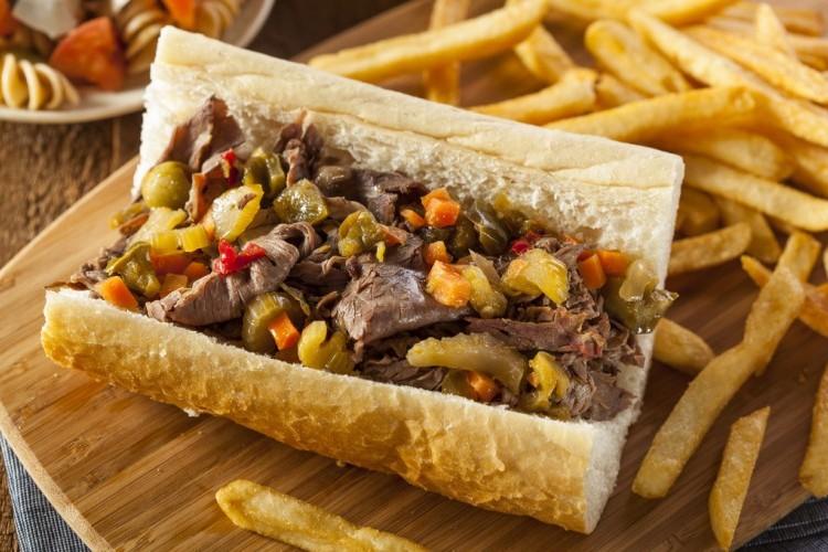 ساندويش اللحم على الطريقة الإيطالية