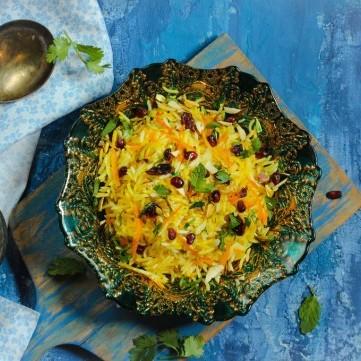 أرز إيراني بالرمان
