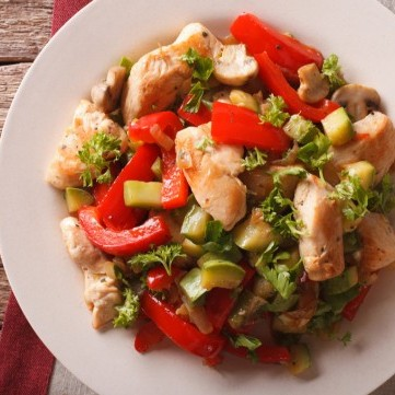 دجاج صيني بالفلفل