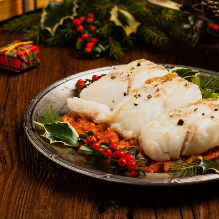 سمك القدّ والخضروات