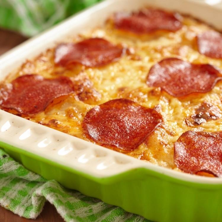 مكرونة البيتزا