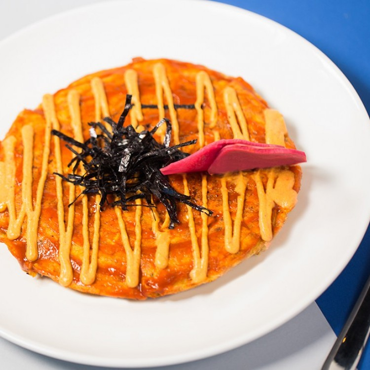 فطيرة الخضراوات اليابانية