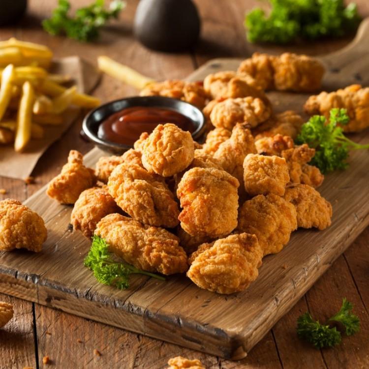 تندر الدجاج بجبن البارميزان