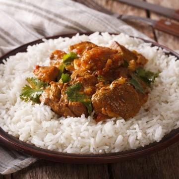 لحم بالتوابل الهندية