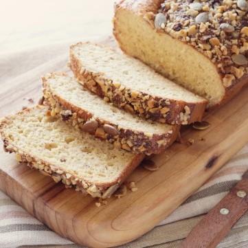 خبز بدقيق اللوز بدون بيض